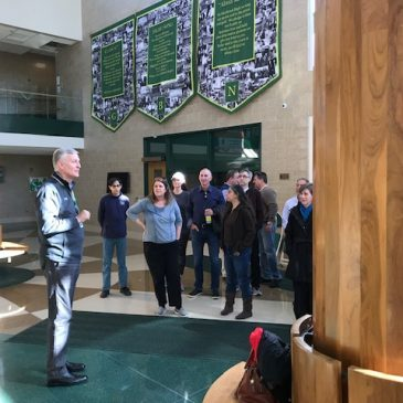 Homecoming weekend Tour for the Class of 1983!
